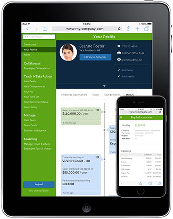 Ultipro Mobile Keep Track Of Hr And Payroll Info Anytime