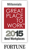 Discover why Ultimate Software ranks in the top 10 places to work for Millennials nationally for the second consecutive year in the Great Place to Work® Reviews.