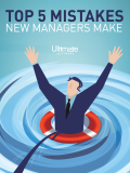 Download HCM Whitepaper: Top 5 Mistakes New Managers Make