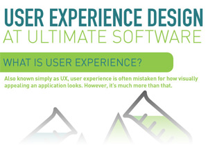User experience (UX) is more than the way an application looks. Get a glimpse into the research and philosophy behind UltiPro's person-centered UX design.
