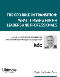 Download The CFO Role in Transition and the Impact on Human Resources - HR Whitepaper