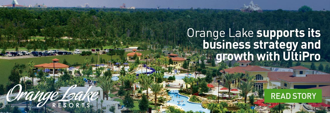Orange Lake Resorts Manages growth with UltiPro Onboarding and UltiPro Business Intelligence