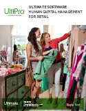 Download How Ultimate Software Delivers a Competitive Advantage to Retail Organizations - HCM Whitepaper