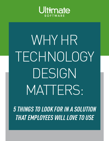 Why HR Technology Design Matters
